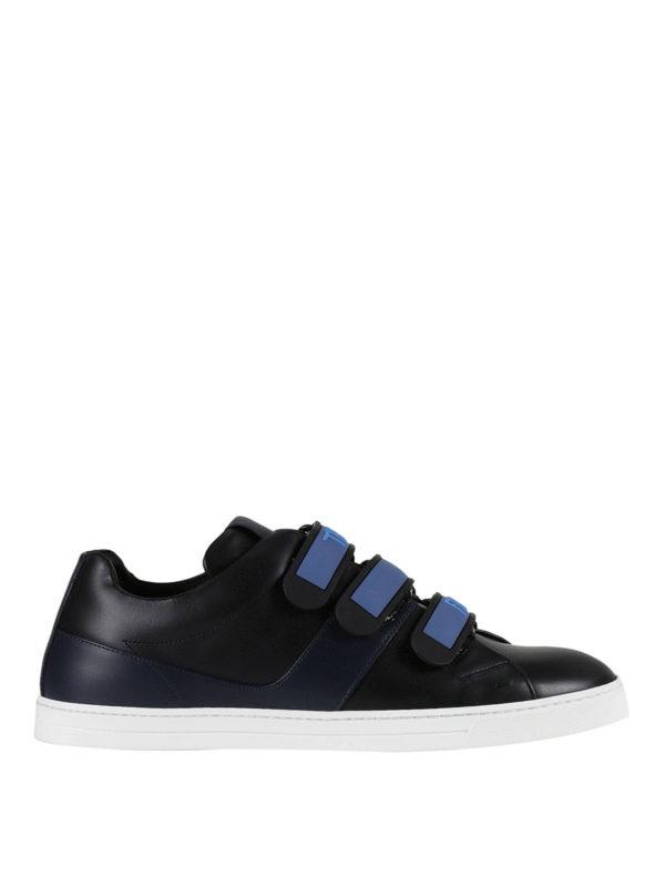 FENDI: Sneaker - Sneaker - Schwarz
