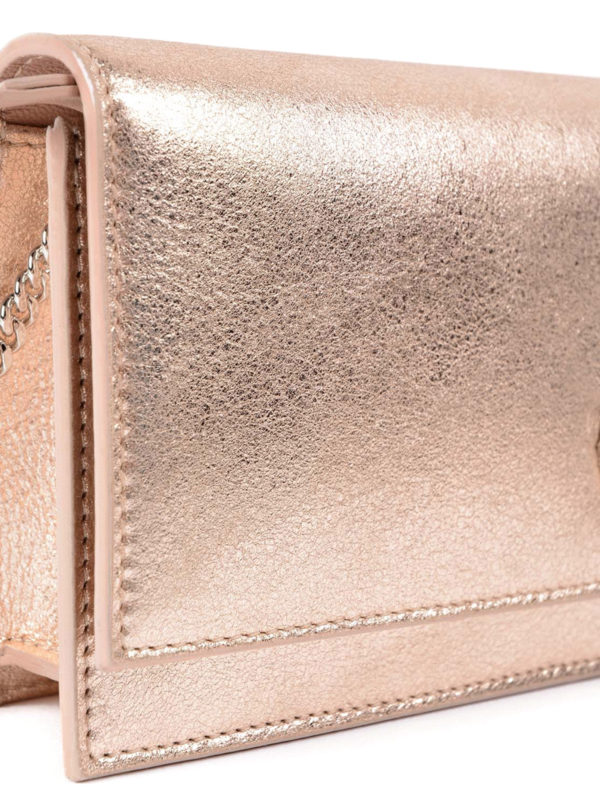 Clutch - Rotgold shop online: Jimmy Choo