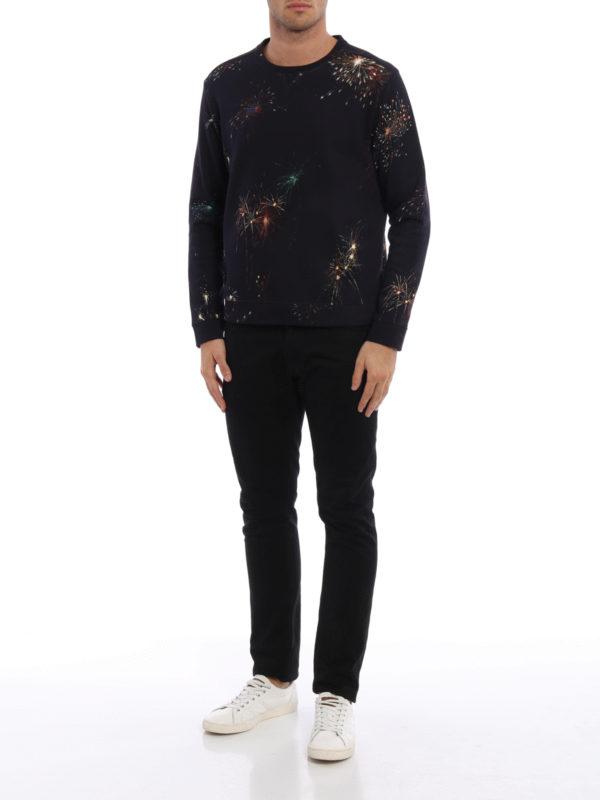 Sweatshirt - Dunkelblau shop online: VALENTINO