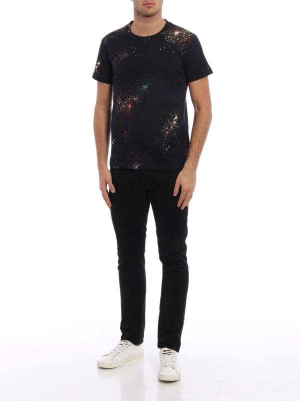 T-Shirt - Dunkelblau shop online: VALENTINO