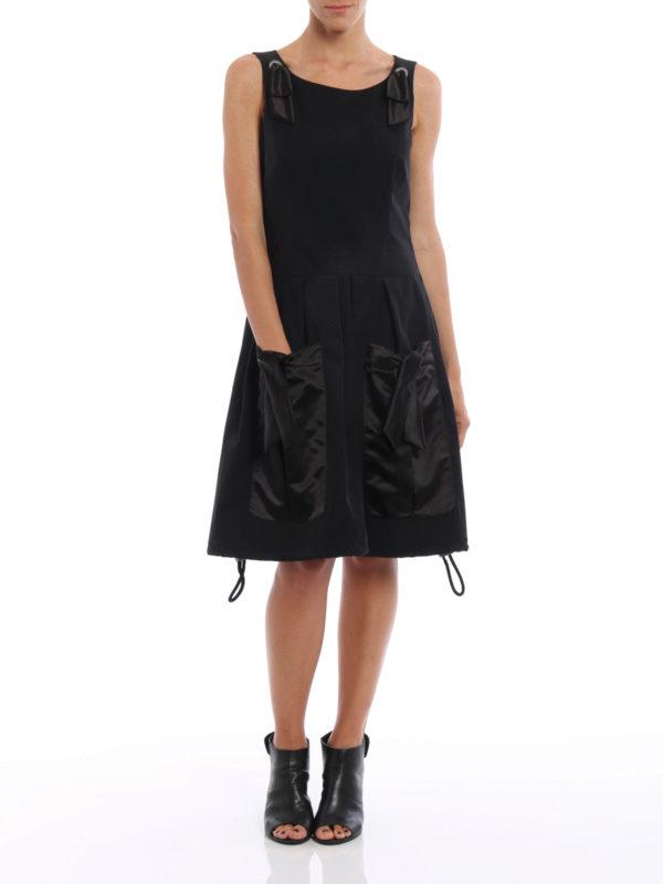 Knielanges Kleid - Einfarbig shop online: Moschino