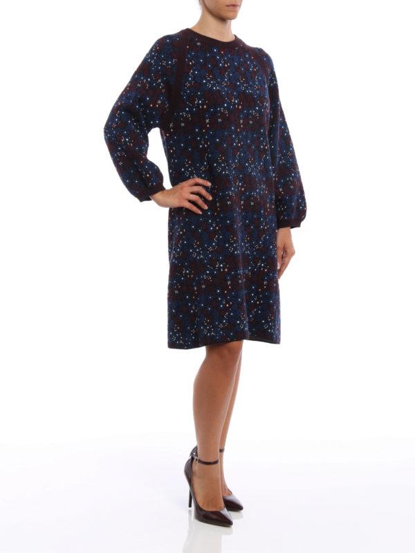 Knielanges Kleid - Gemustert shop online: Chloe