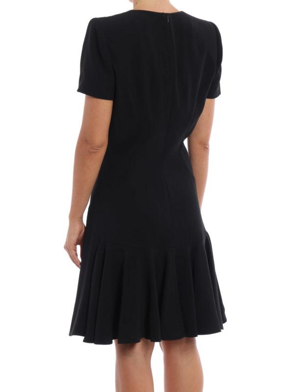 Knielanges Kleid - Einfarbig shop online: Alexander Mcqueen