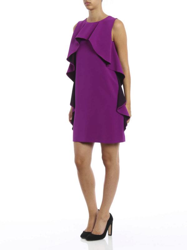 Vestido De Cóctel Púrpura de Moschino Boutique - Vestidos de cóctel ...