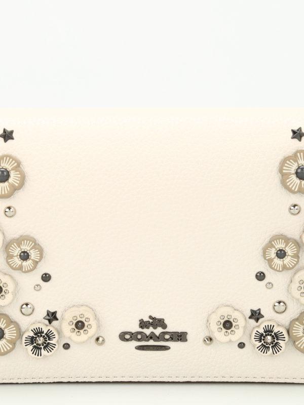 Clutch - Weiß shop online: COACH