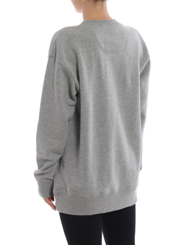 Sweatshirt - Grau shop online: MARC JACOBS