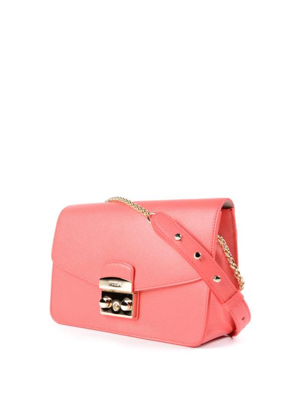 Furla: Schultertaschen online - Schultertasche - Pink