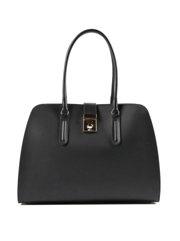 Furla: Handtaschen - Shopper - Schwarz