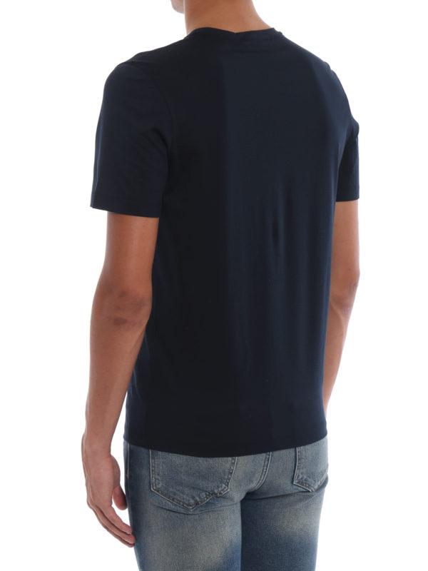 T-Shirt - Dunkelblau shop online: SALVATORE FERRAGAMO