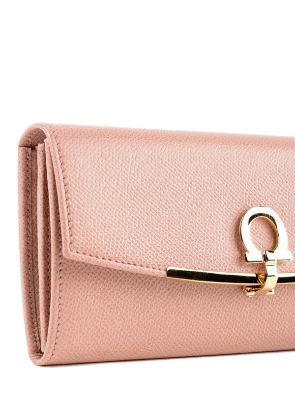 Portemonnaie - Pink shop online: SALVATORE FERRAGAMO