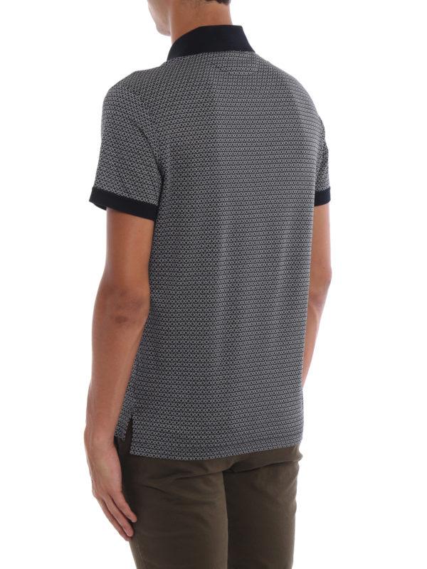 Poloshirt - Blau shop online: SALVATORE FERRAGAMO