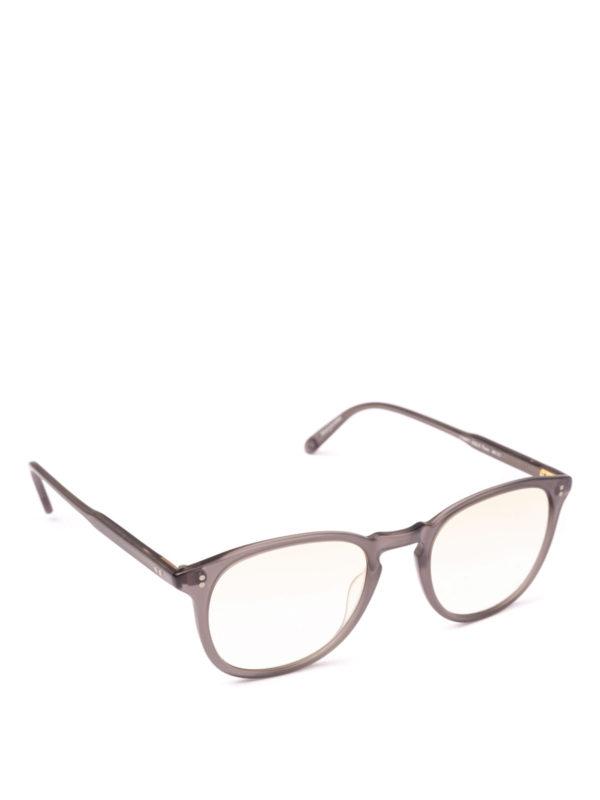 GARRETT LEIGHT: Brillen - Brillen - Grau