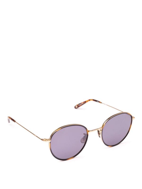 GARRETT LEIGHT: Sonnenbrillen - Sonnenbrille - Braun