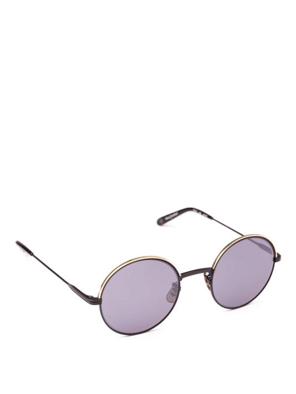 GARRETT LEIGHT: Sonnenbrillen - Sonnenbrille - Schwarz
