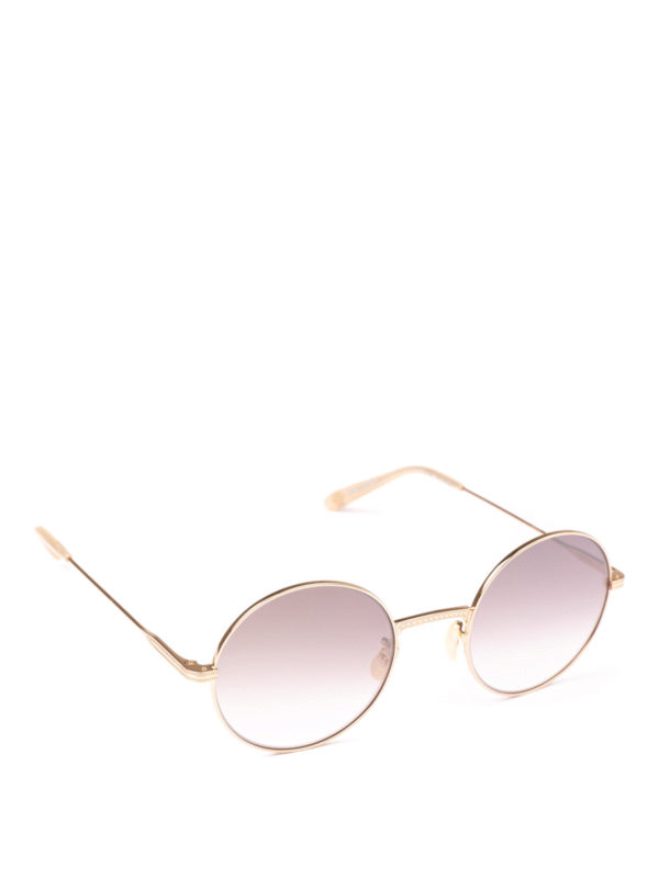 GARRETT LEIGHT: Sonnenbrillen - Sonnenbrille - Gold