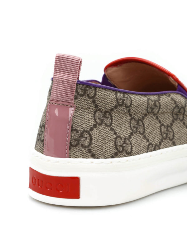 GG slip-on sneakers shop online: Gucci