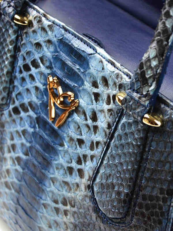 iKRIX Ghibli: Python leather tote bag