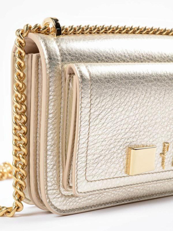 Umhängetasche - Weißgold shop online: Salvatore Ferragamo