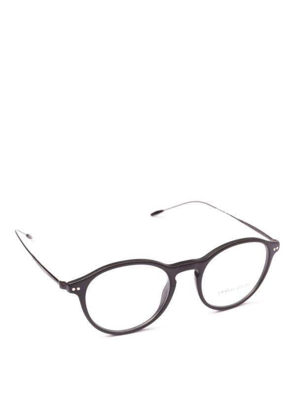 GIORGIO ARMANI: Brillen - Brillen - Schwarz