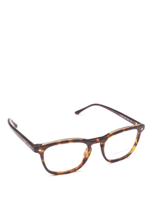 GIORGIO ARMANI: Brillen - Brillen - Braun