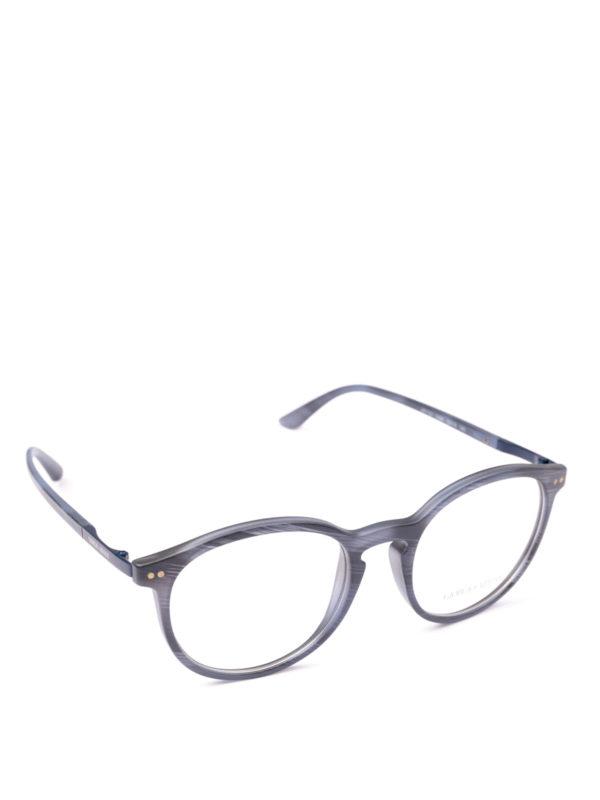 GIORGIO ARMANI: Brillen - Brillen - Blau