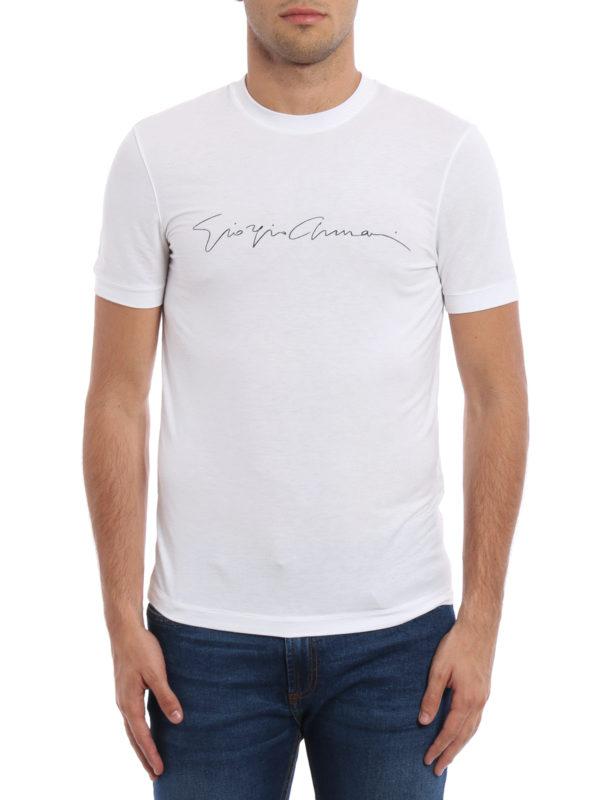 GIORGIO ARMANI: T-shirts online - T-Shirt - Einfarbig