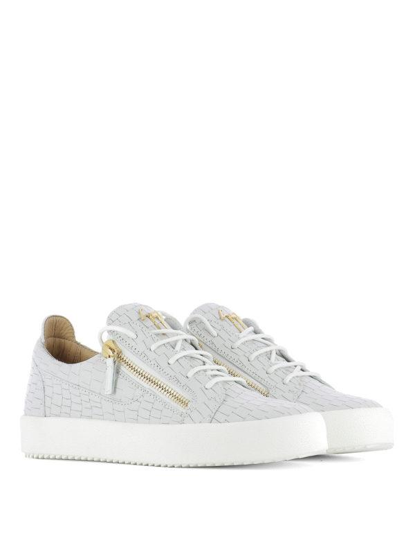GIUSEPPE ZANOTTI: Sneaker online - Sneaker - Hellgrau