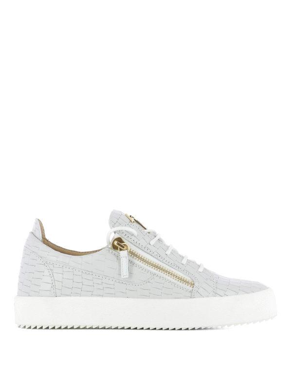 GIUSEPPE ZANOTTI: Sneaker - Sneaker - Hellgrau