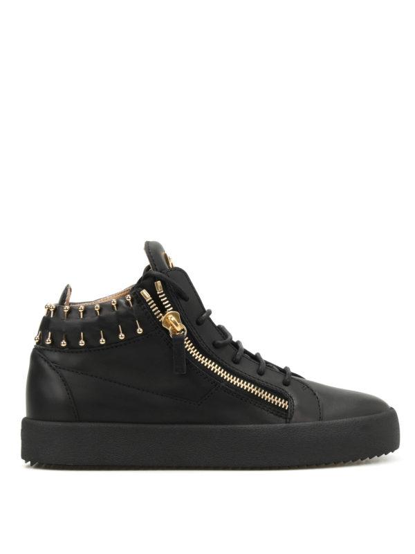Giuseppe Zanotti: Sneaker - Sneaker - Schwarz