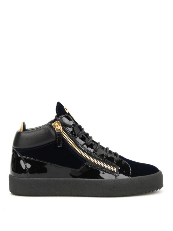 Giuseppe Zanotti: Sneaker - Sneaker - Blau