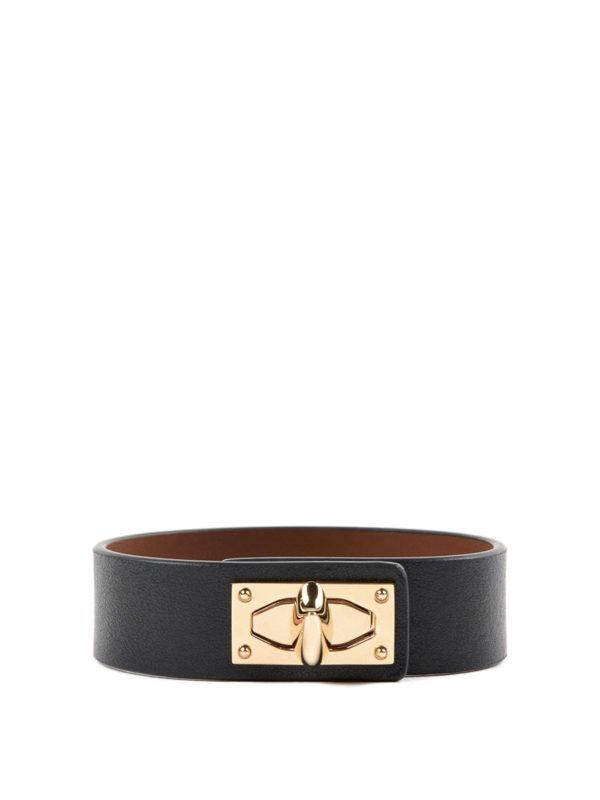 Givenchy: Armbänder und Armkettchen - Armband - Schwarz