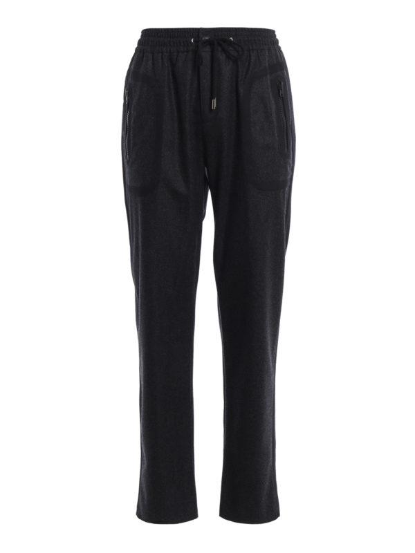 Givenchy: Casual Hosen - Casual Hosen - Dunkelgrau