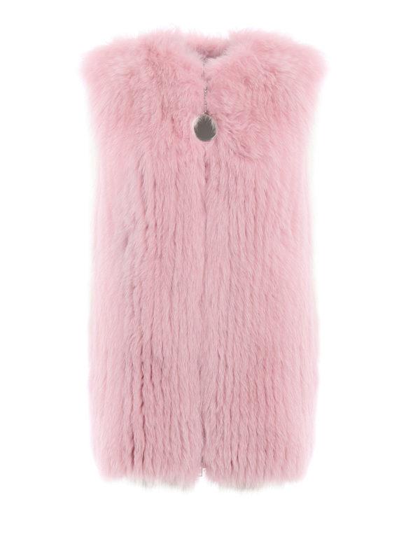Givenchy: Pelz und Shearling - Pelz - Einfarbig