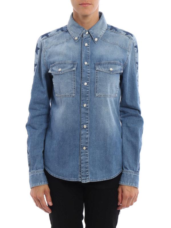 Givenchy: Hemden online - Hemd - Light Wash