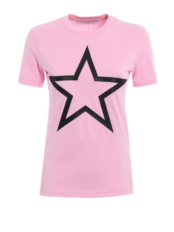 GIVENCHY: T-shirts - T-Shirt - Pink