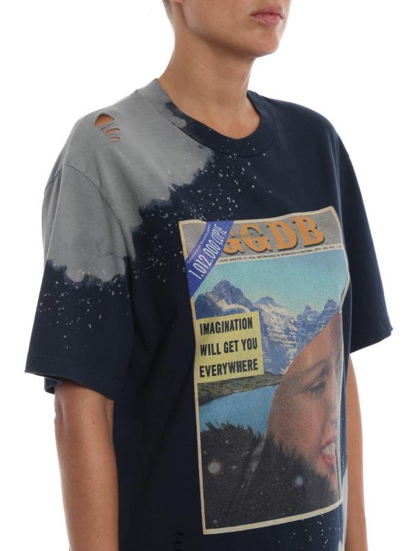 GOLDEN GOOSE buy online T-Shirt - Dunkelblau