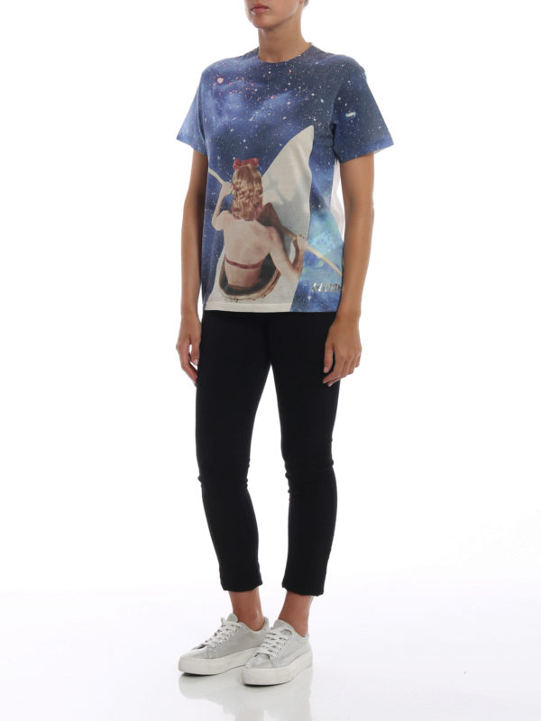GOLDEN GOOSE: T-shirts online - T-Shirt - Hellblau