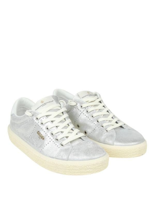 GOLDEN GOOSE: Sneaker online - Sneaker - Silber