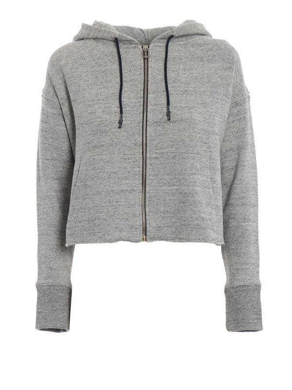 GOLDEN GOOSE: Sweatshirts und Pullover - Sweatshirt - Grau