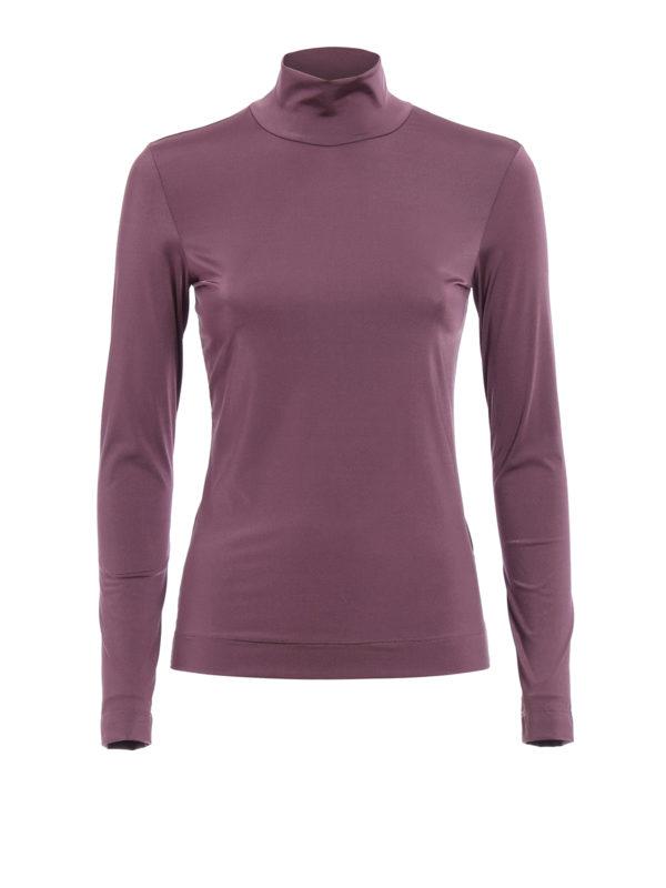 Golden Goose: T-shirts - T-Shirt - Dunkel-Lila