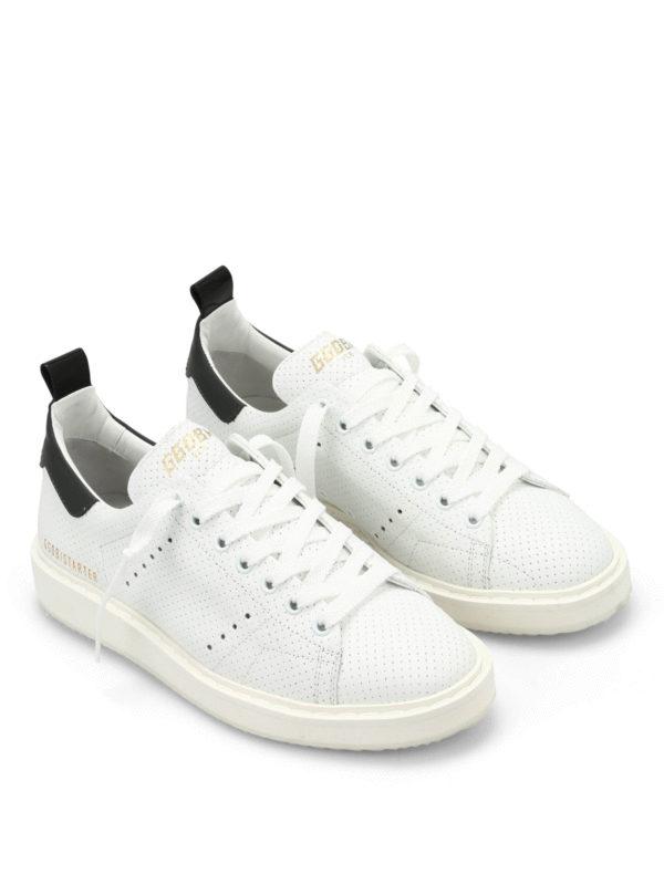 Golden Goose Sneaker Starter Weiß Sneaker G28WS631
