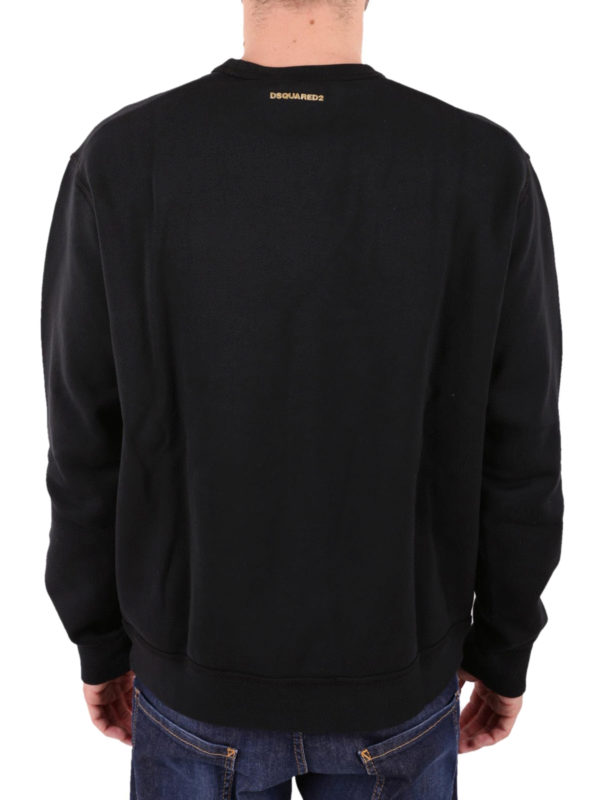 Sweatshirt - Schwarz shop online: DSQUARED2