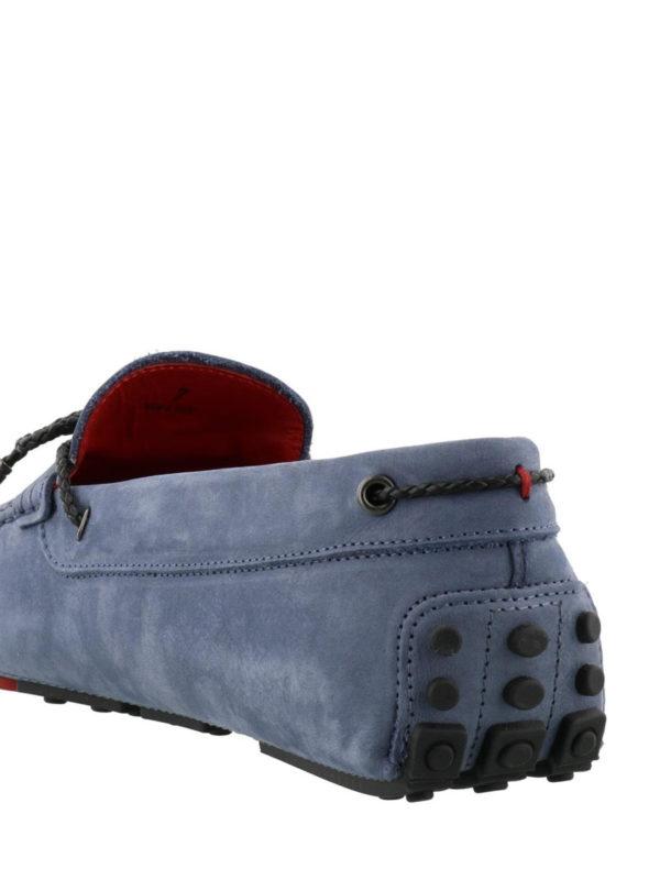 Gommino-Ferrari blue loafers shop online: TOD