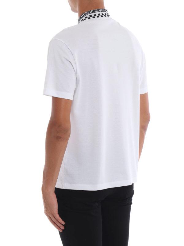 Poloshirt - Weiß shop online: VERSACE