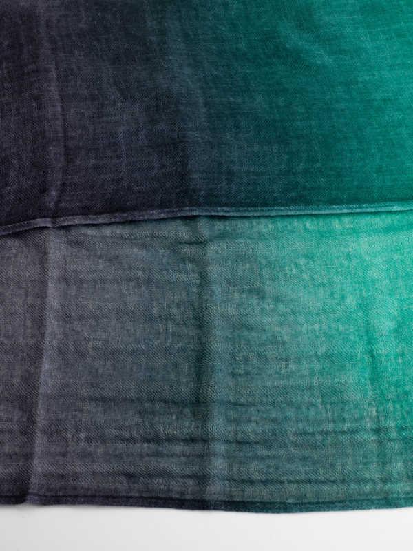 Green / black scarf shop online: AVANT-TOI