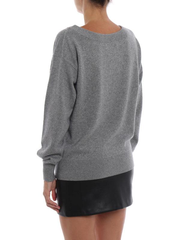 V-Pullover - Grau shop online: ALEXANDER WANG