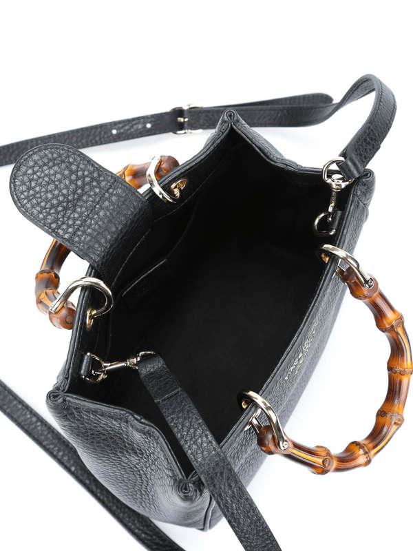 iKRIX GUCCI: Bamboo mini top handle leather bag