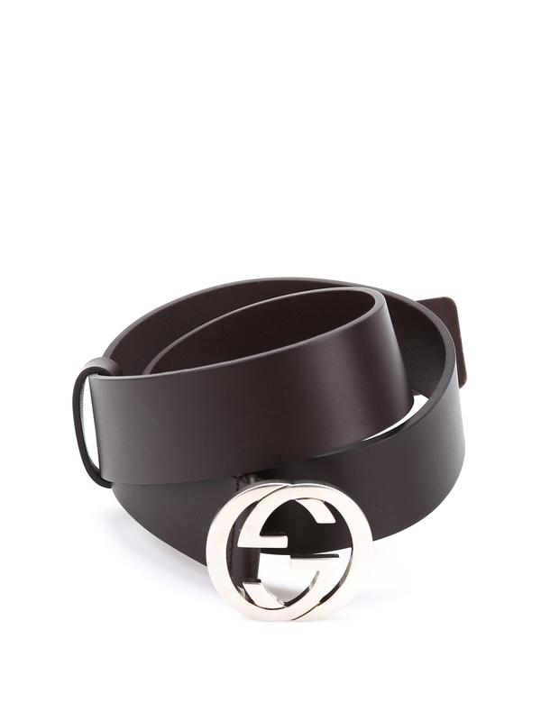 Gucci: belts - Belt with double G bucke