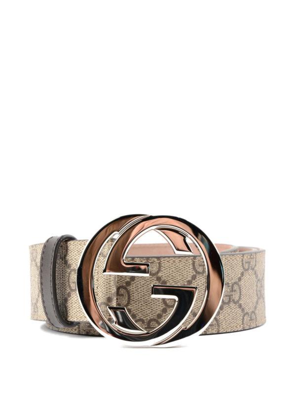 Gucci: Gürtel - Gürtel - Beige