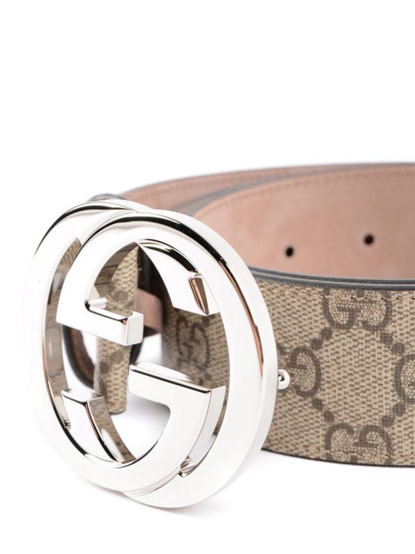 Gucci: Gürtel online - Gürtel - Beige